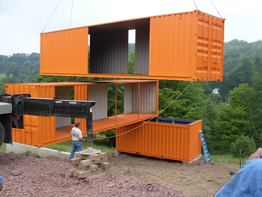 maison-container-début-construction