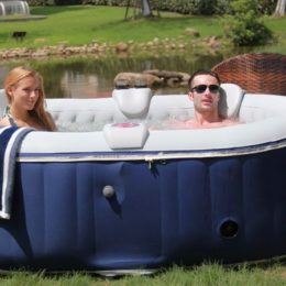 jacuzzi gonflable pas cher